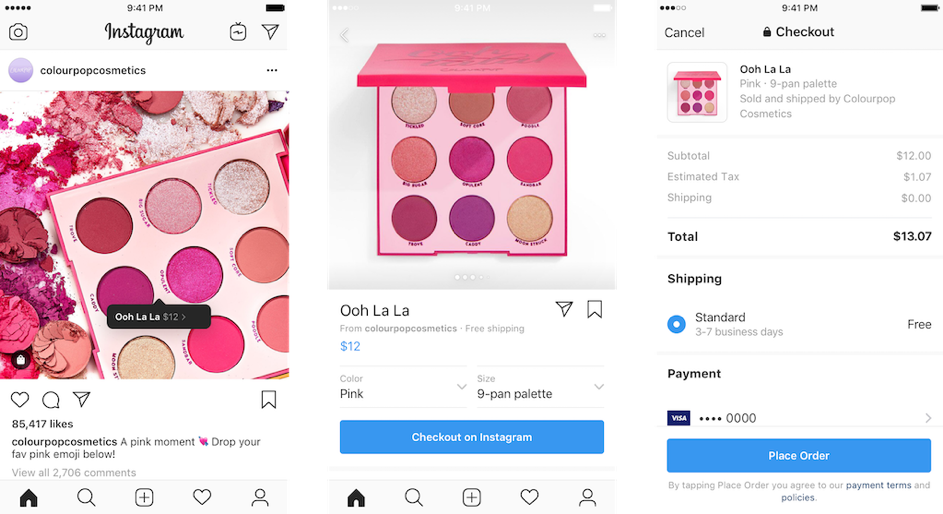 Marketplace Instagram